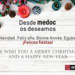 Desde Medoc os deseamos Felices Fiestas