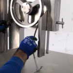 Medoc ST 230 Inox Bandsaw: How to change de blade